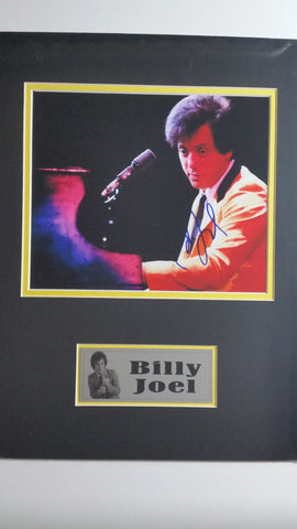 Signed photo of Billy Joel