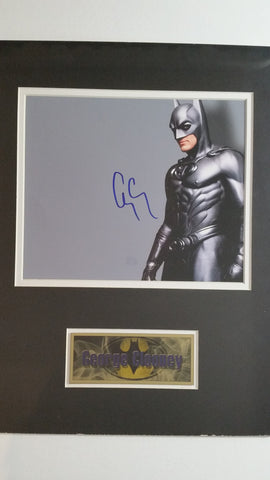 Signed photo of George Clooney