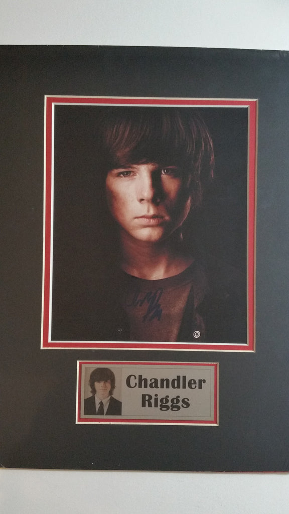 Signed photo of Chandler Riggs