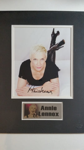 Signed photo of Annie Lennox
