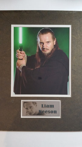 Signed photo of Liam Neeson