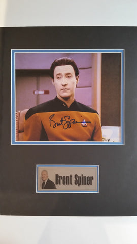 Signed photo of Brent Spiner