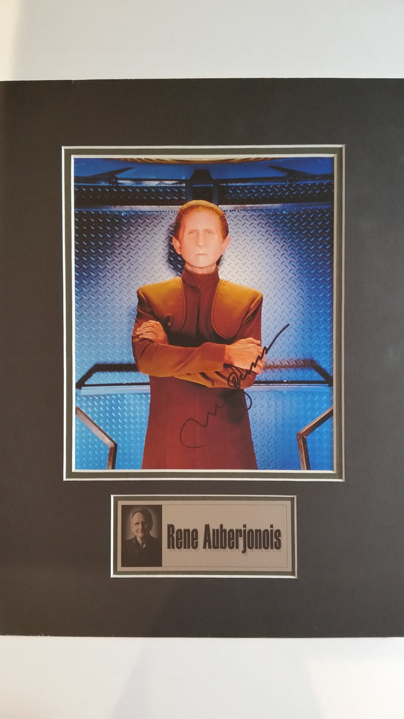 Signed photo of Rene Auberjonois