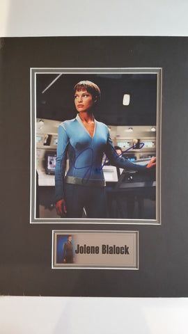Signed photo of Jolene Blalock