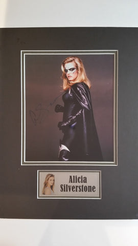 Signed photo of Alicia Silverstone