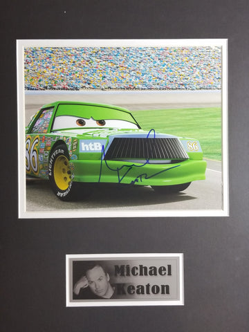 Signed photo of Chick Hicks from Disney's Cars