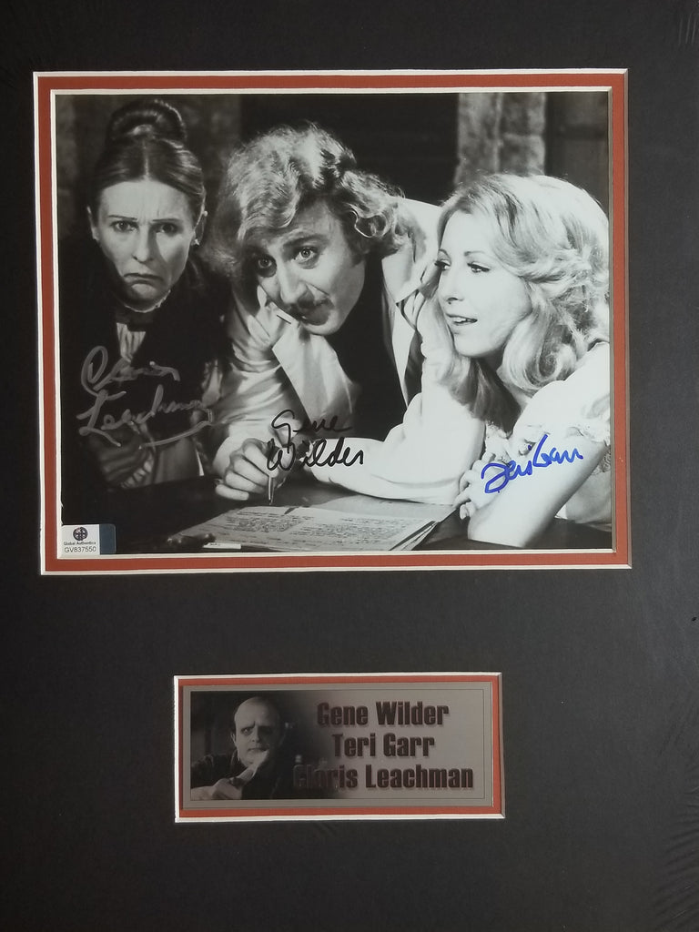 Signed photo from Young Frankenstein
