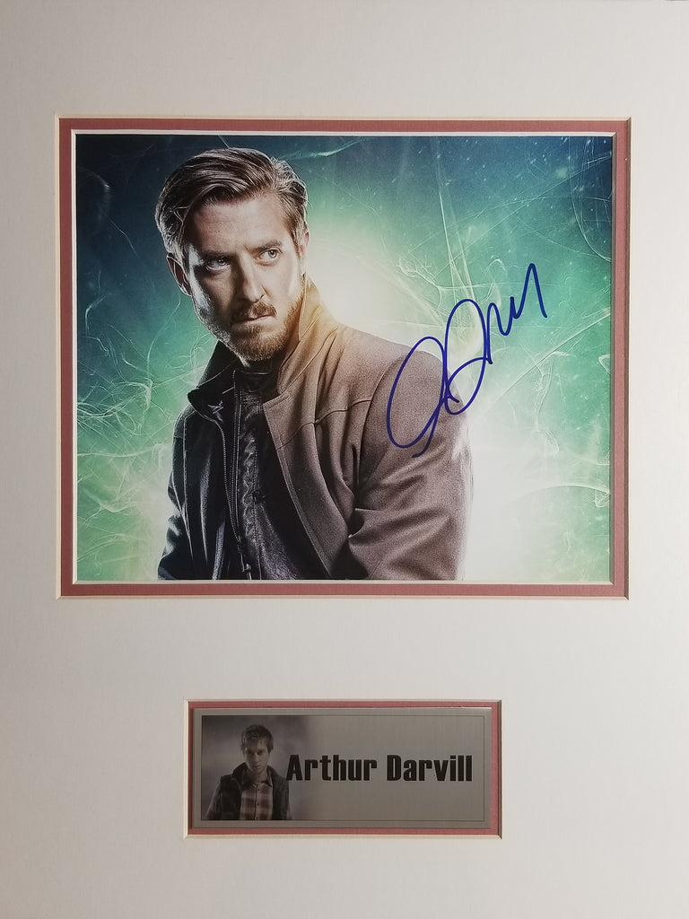 Signed photo of Arthur Darvill