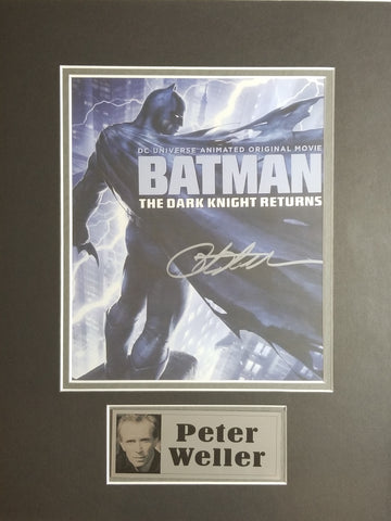 Signed photo of Batman