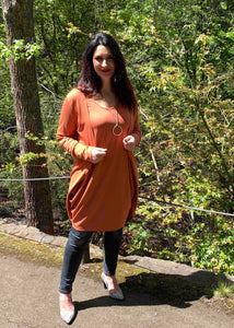 AVIVA Dress in Pumpkin