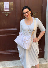 Load image into Gallery viewer, AVIVA Maxi Dress in Light Grey Marle