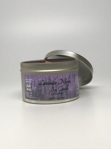 Lavender Nights Soy Candle