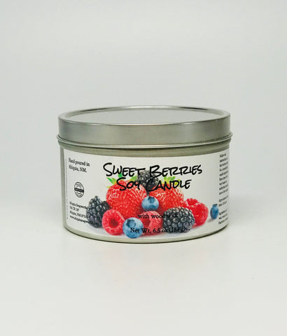 Sweet Berries Soy Candle