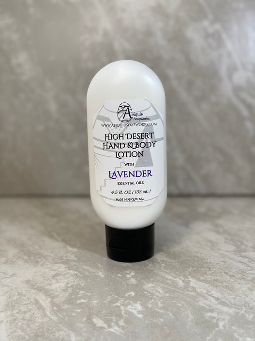 High Desert Hand & Body Lotion Lavender