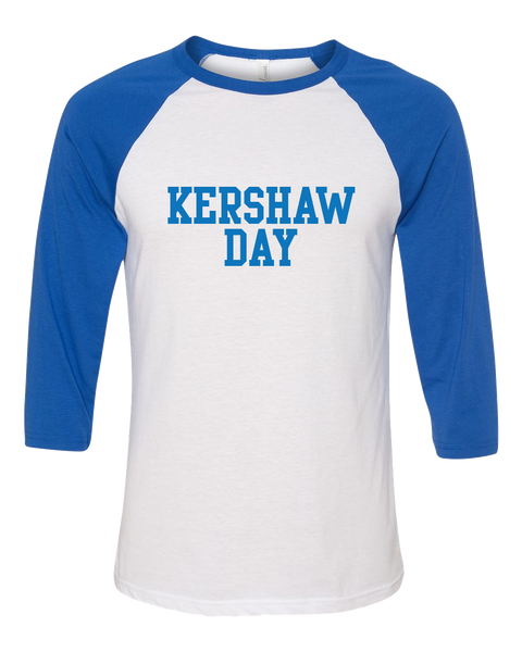 2017 Kershaw Day Unisex Baseball Tee