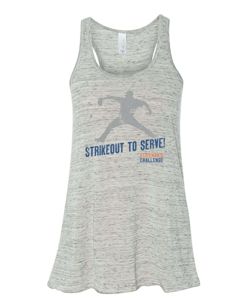 Strikeout to Serve Ladies Tank