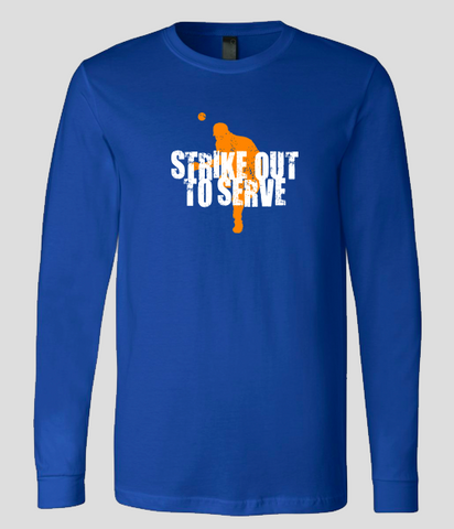 Dodger Blue Long Sleeve T-Shirt