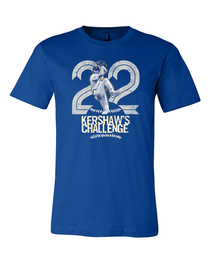 2016 Kershaw Playoffs T-shirt | Limited Edition