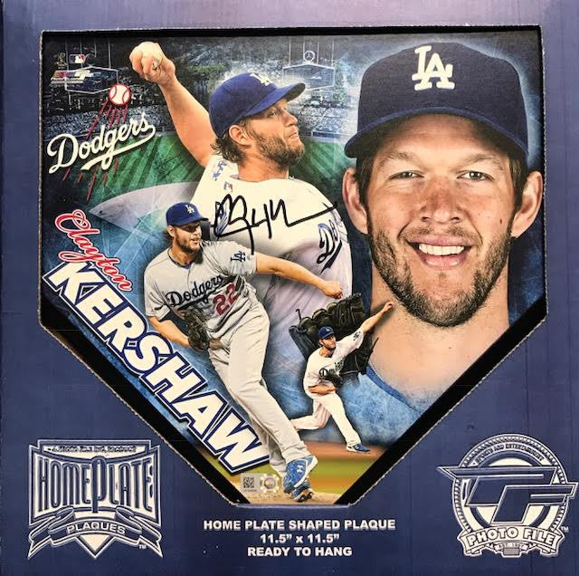 Clayton Kershaw signed min Home Plate