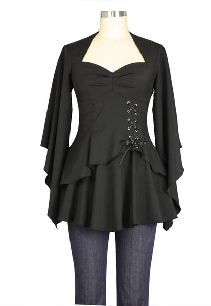 Steampunk Dresses | Women & Girl Costumes Airship Top $31.95 AT vintagedancer.com