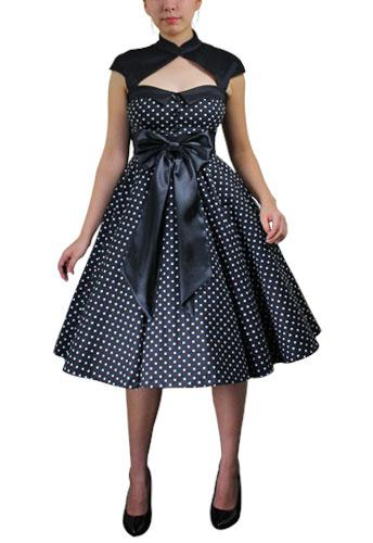 Archaize Polka Dot Dress