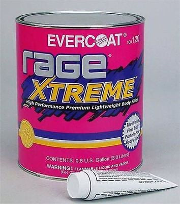 Evercoat Rage Extreme HP Premium Lightweight Body Filler FIB-120 Gal