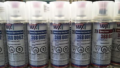 USC SPRAY MAX 2K GLAMOR HIGH GLOSS CLEAR SPRAY CAN 3680061 AREOSOL