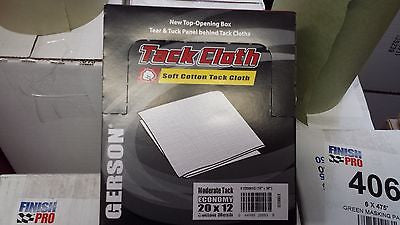 Gerson Tan Hi Tack - Tack Cloth All Paint Systems 20001T Box of 12