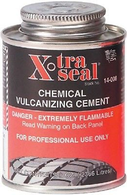 Xtra Seal Chemical Vulcanizing Cement 8 oz. Tire Repair