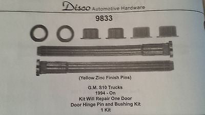 1994 - 2004 Chevy S10 & GMC S15 Door Hinge Pins Pin Kit