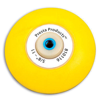 Presta 810116 Flexible foam backing plate 0.62 in. 11 Thread.