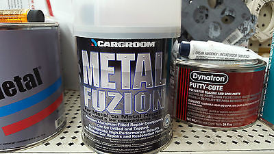US Chemical Fuzion Premium Metal Body Filler - Quart 77013