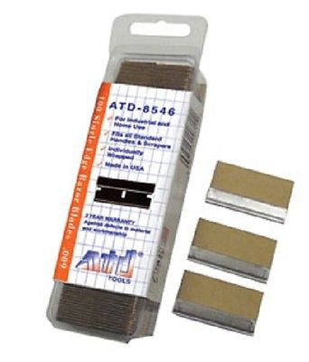 ATD Tools 8546 Single Edge Razor Blades (#9 blade) Made in USA