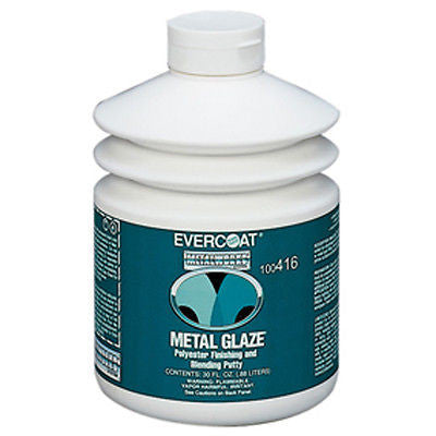 30 oz Evercoat Metal Glaze - Polyester  Finishing  Putty  # Fib 416