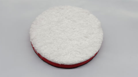 3'' Inch SM Arnold Red Microfiber Buffing / Cutting Pads 43203