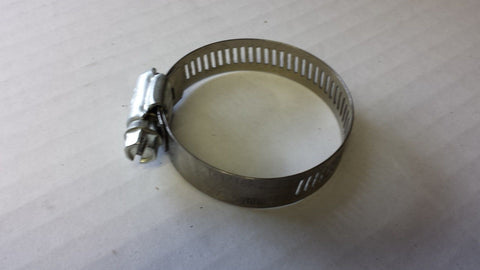 Hose Clamp Worm Gear Stainless Steel # 28 Size 1-5/16'' to 21/4'' Clamp Range