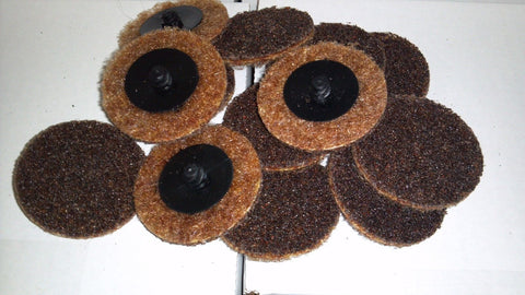 "5 pc 2"" Brown Roloc Surface Conditioning Disc Coarse"
