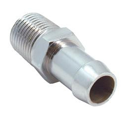 Straight Heater Fitting 5/8 inch hose to 1/2 inch Male Pipe Thread 1-1/2 long