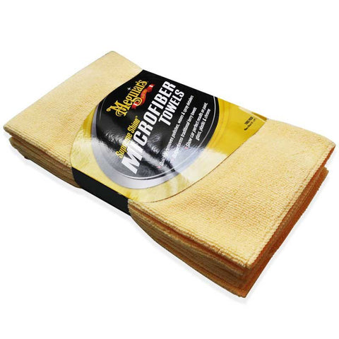 Meguiar's X2020 Supreme Shine Microfiber Cloths (Pack of 3) New