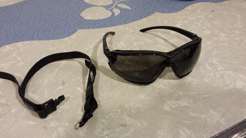 Sas Safety 5103 Gloggles - Gray Lens