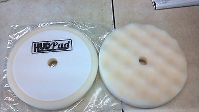 "8"" Foam White Compound Buffing Pad 2 per pack Compare to 3M #5723"