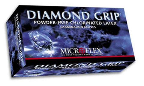 MICROFLEX MF300 XL DIAMOND GRIP LATEX GLOVE