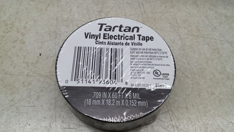 "3M 3/4"" Vinyl Electrical Tape 1 roll"