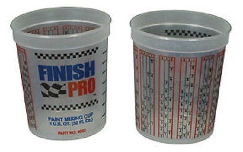Finish Pro Quart Mixing Cups 12 PACK