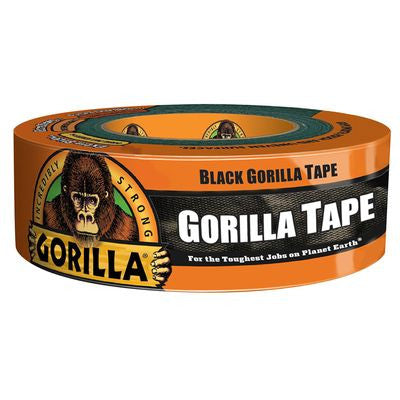 Black Gorilla Tape 1.88in x 35yd. (48mm x 32m)