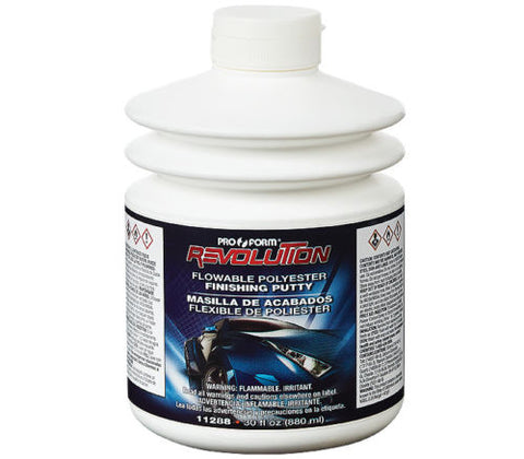 30 oz Pro Form Revolution Flowable Polyester Finishing Putty 11288