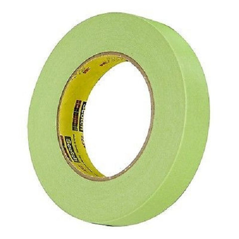 "1/2"" - 1 ROLL 3M 26332 Green Masking Tape 233+ 1 Roll"