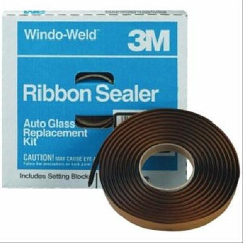 "3M Window-Weld Round Ribbon Windshield Sealer, 3/8"" x 15' 8612"