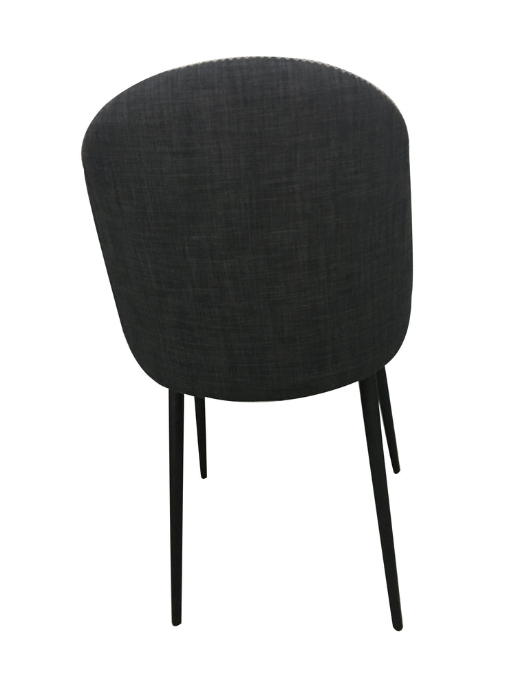 Load image into Gallery viewer, Rapallo Dining Chair Santorini Black/Grey
