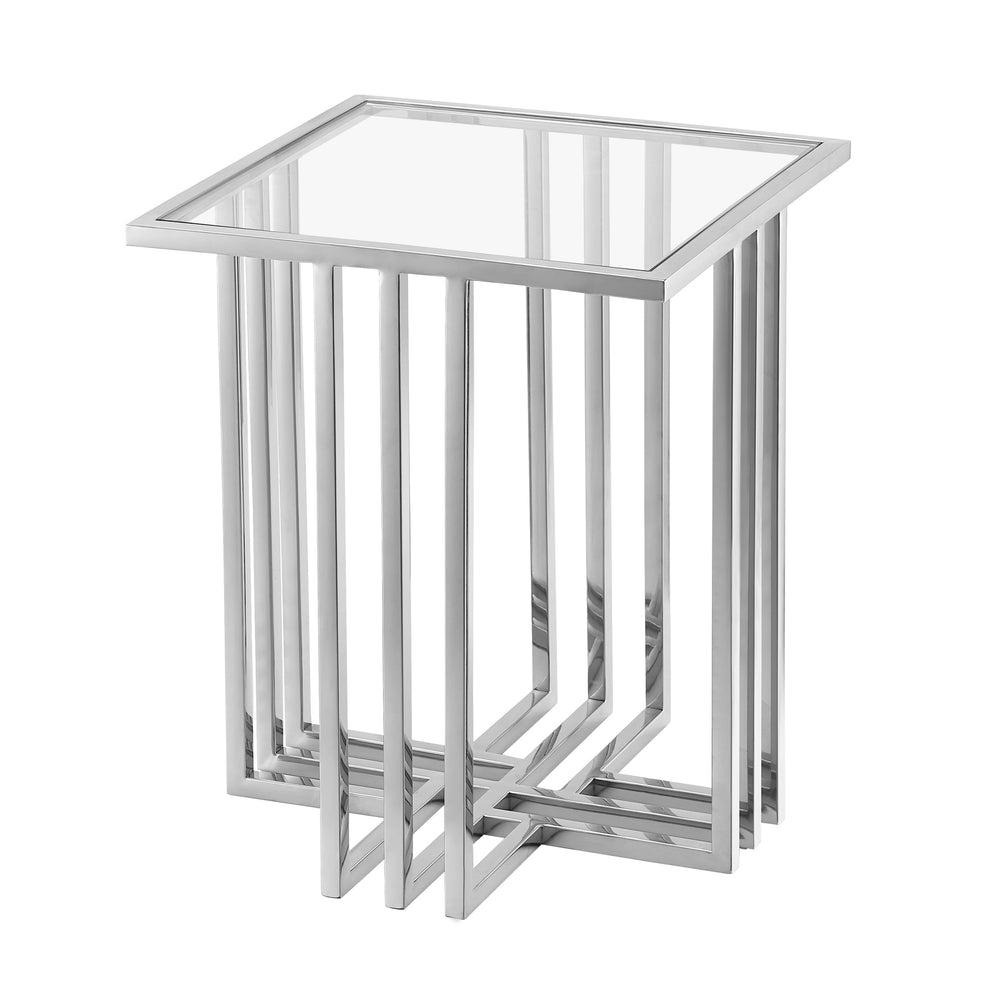 Catania Silver Side Table